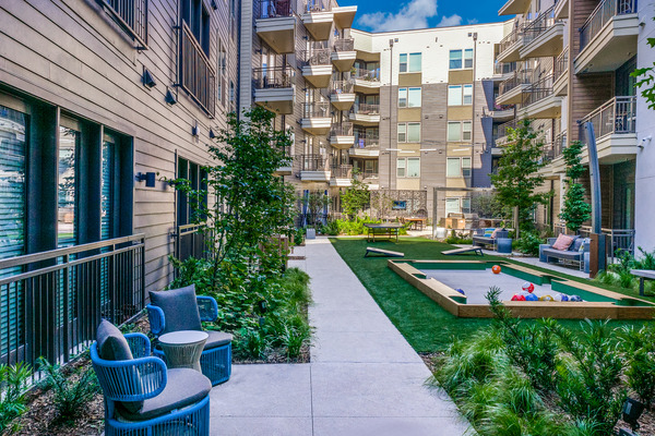 CBG builds Vitruvian West Phase II, a 366-Unit LEED® Silver Apartment Community with Parking Garage in Addison, TX - Image #5