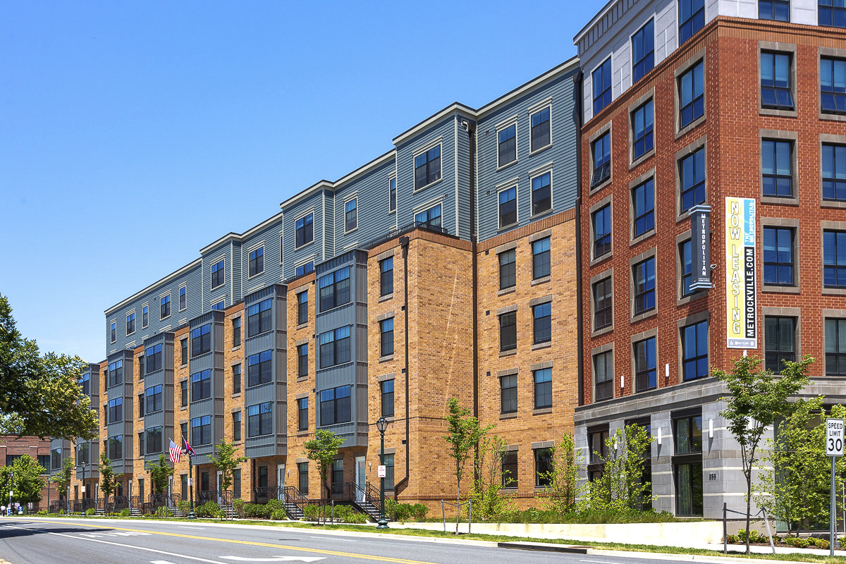 CBG builds The Metropolitan Rockville Town Center, a 275-Unit Mixed-Use Community with Below-Grade Parking in Rockville, MD - Image #3