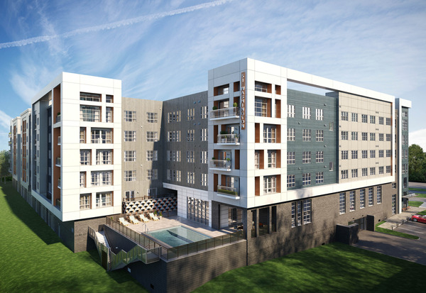 CBG builds 51 Washington, a 304-Unit, Five-Story Luxury Community with Pool and Cast-In-Place Garage in Conshohocken, PA - Image #2