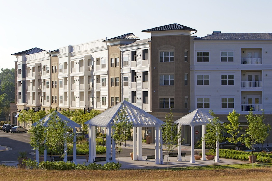 CBG builds City Center, a 291 Market-Rate Apartments and 45,000 SF of Retail in Mixed-Use Town Center in Manassas Park, VA - Image #7