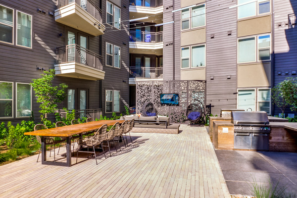 CBG builds Vitruvian West Phase II, a 366-Unit LEED® Silver Apartment Community with Parking Garage in Addison, TX - Image #2