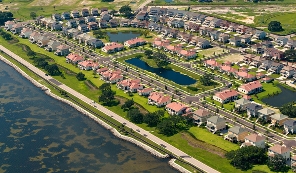 CBG builds MacDill Family Housing, a 527 Homes for Military Families in the Air Force at Harbor Bay at MacDill in Tampa, FL - Image #1