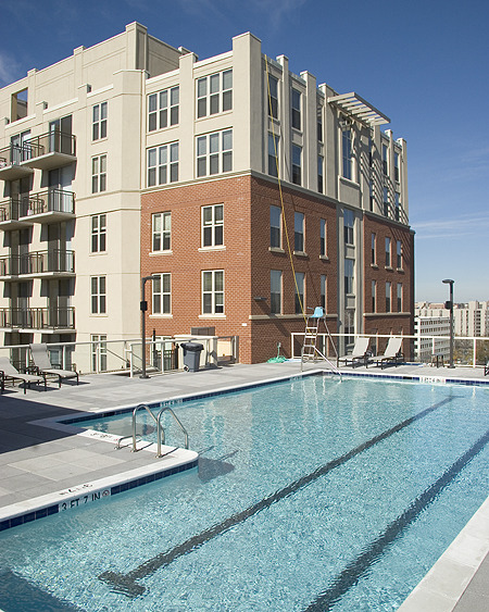 CBG builds Massachusetts Court Apartments, a Fourteen-Story, 358-Unit Luxury Apartment Building Over a Shared Underground Garage in Washington, DC - Image #3