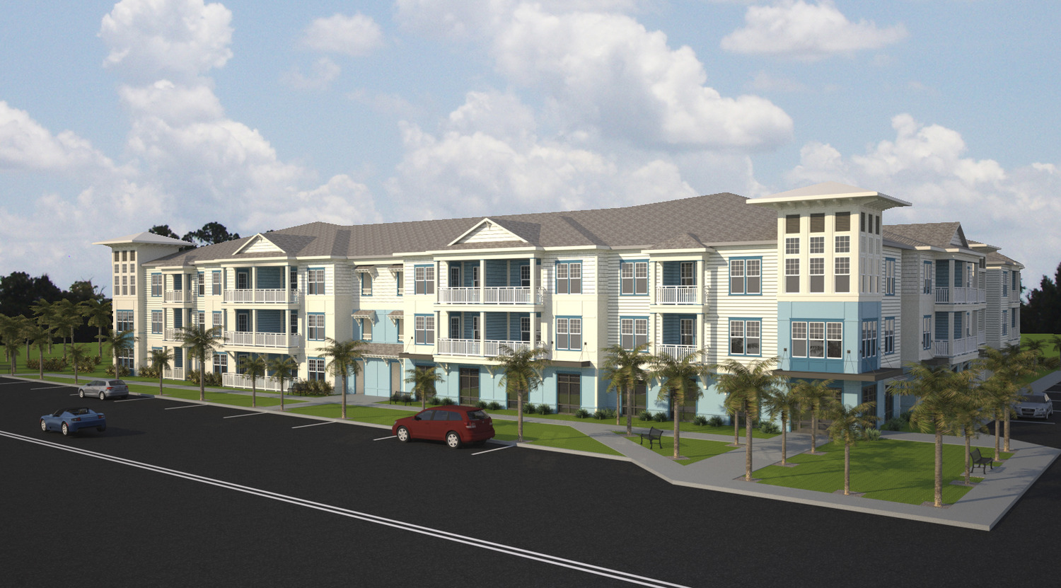 CBG builds The Rosery, a 224-Unit Luxury Apartment Community Across Four Buildings in Largo, FL - Image #1