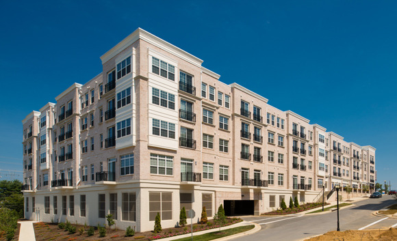 CBG builds Paramount at Watkins Mill, a 224-Unit Mixed-Use Apartment Community in Gaithersburg, MD - Image #1