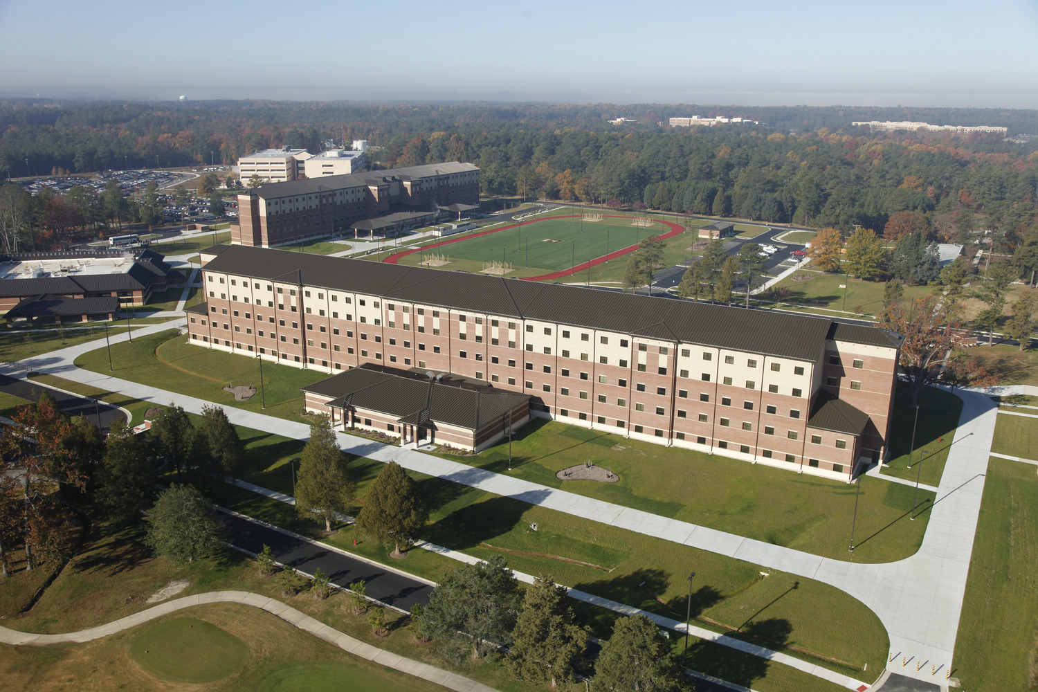 CBG builds Fort Lee AIT Barracks, a 600-Unit Advanced Individual Training Facility and Residential Complex in Fort Lee, VA - Image #10