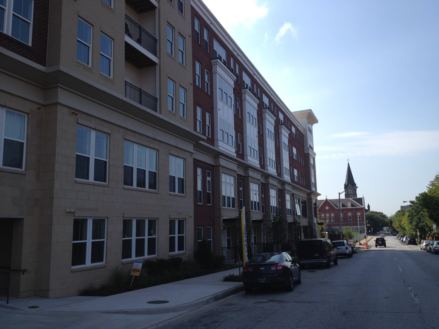 CBG builds Jefferson Square at Washington Hill, a 304-Unit Mixed-Use Apartment Community with Cast-in-Place Parking Garage in Baltimore, MD - Image #7