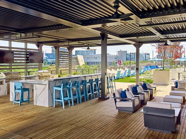 CBG builds Generation Atlanta, a 336-Unit, 17-Story Luxury Community with Above-Grade Parking in Atlanta, GA - Image #7