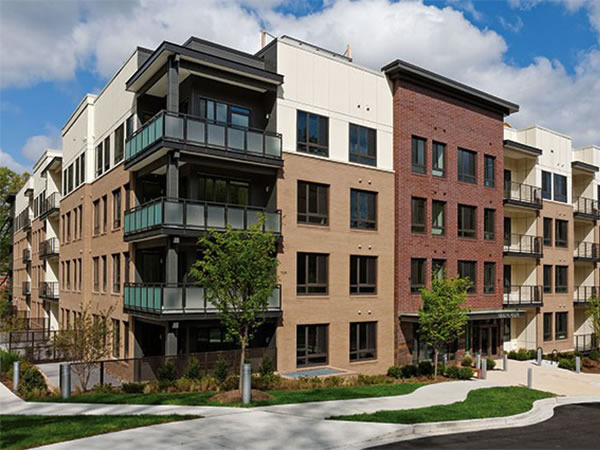 CBG builds Avery Row, a 67 Luxury Apartments with Amenities and Underground Parking in Arlington, VA