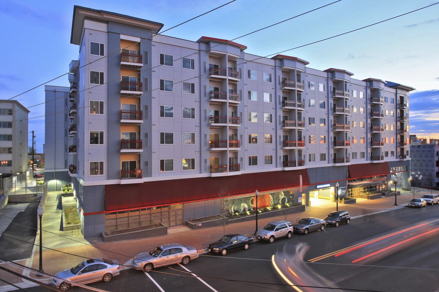 CBG builds The Galaxy, a 195-Unit Apartment Building with Four-Level Underground Cast-in-Place Parking in Silver Spring, MD