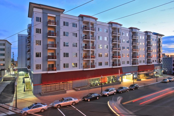 CBG builds The Galaxy, a 195-Unit Apartment Building with Four-Level Underground Cast-in-Place Parking in Silver Spring, MD - Image #1