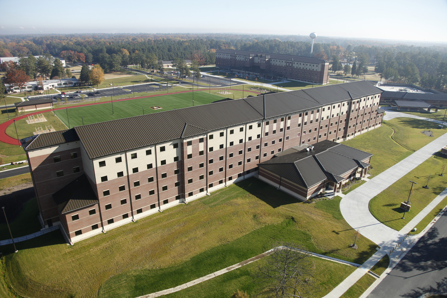 CBG builds Fort Lee AIT Barracks, a 600-Unit Advanced Individual Training Facility and Residential Complex in Fort Lee, VA - Image #5