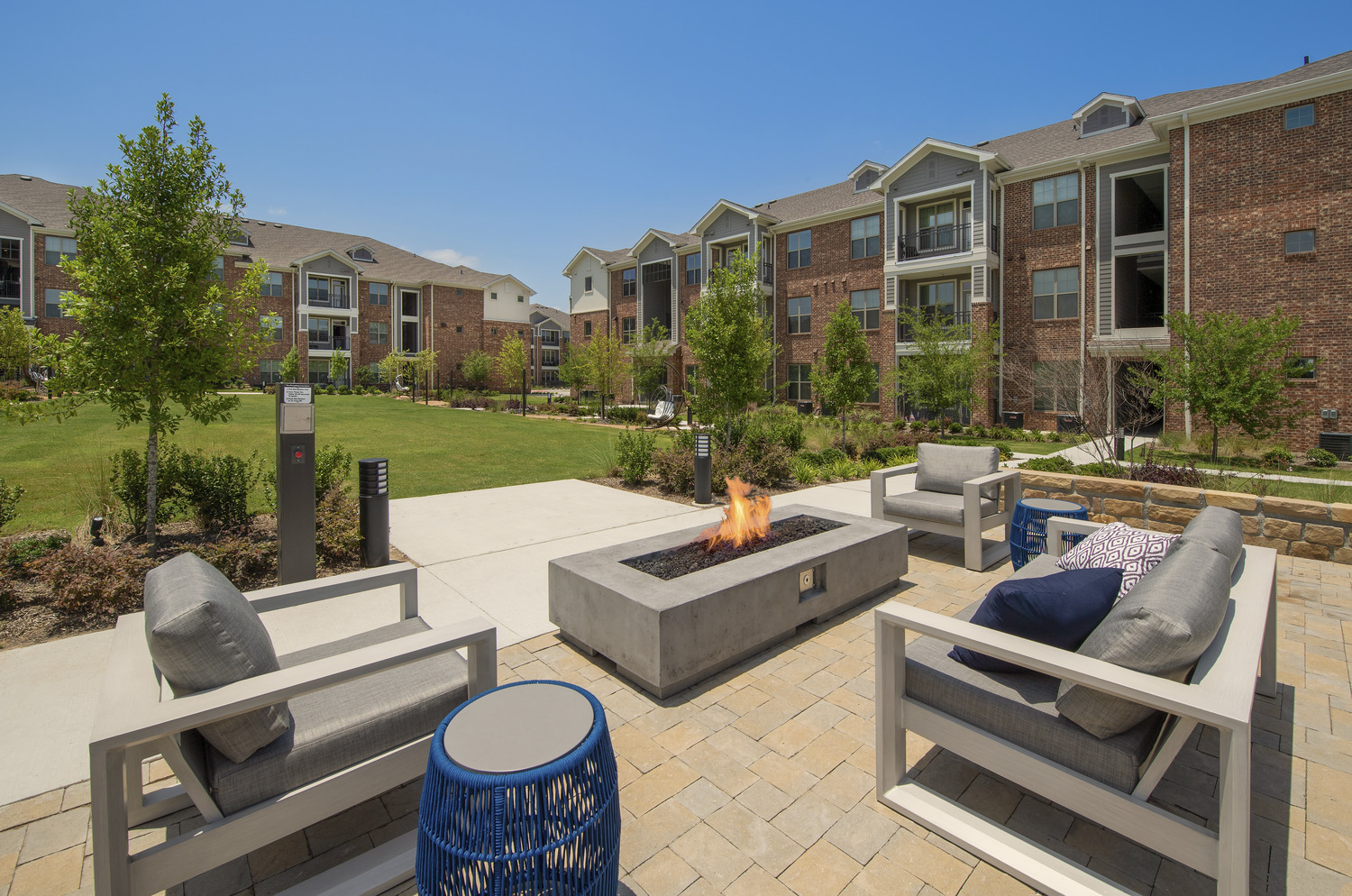 CBG builds Copper Ridge Phase III, a Three-Story, 168-Unit Apartment Community Across Eight Buildings in Roanoke, TX - Image #4