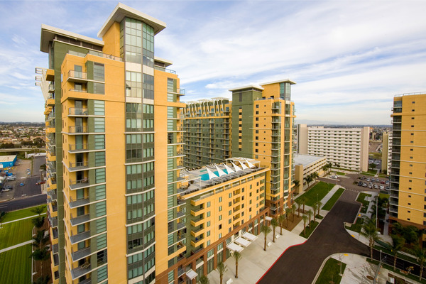 CBG builds Pacific Beacon, a 2,398 Beds in 1,199-Unit Luxury Apartment Community for Single Sailors and Students in San Diego, CA - Image #4