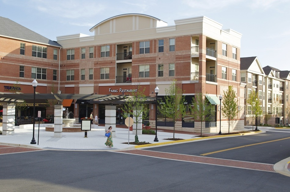 CBG builds Village at Leesburg, a 335 Apartment Units in Nine Buildings Over Retail in Leesburg, VA