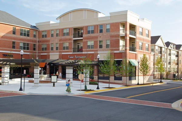 CBG builds Village at Leesburg, a 335 Apartment Units in Nine Buildings Over Retail in Leesburg, VA - Image #1