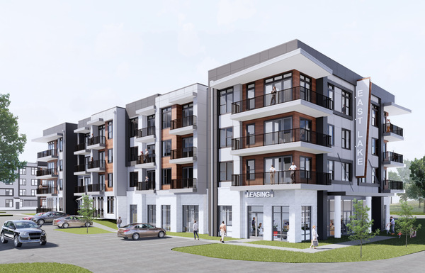CBG builds East Lake, a 230-Unit, Four-Building Mixed-Use Community with Office Space and Amenities in Atlanta, GA - Image #1