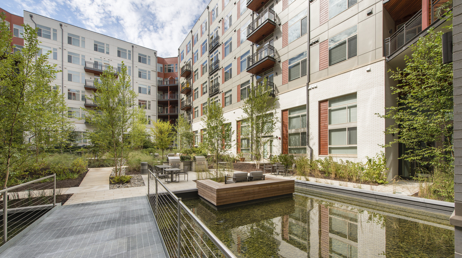 CBG builds Highgate at the Mile, a 395-Unit Mixed-Use Community with Precast Parking Garage in Tysons, VA - Image #5