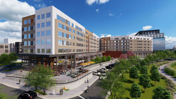 CBG builds Ovation at Arrowbrook, a 274-Unit, Six-Story EarthCraft Gold Affordable Community with 38,000 Square Feet of Retail in Herndon, VA - Image #1