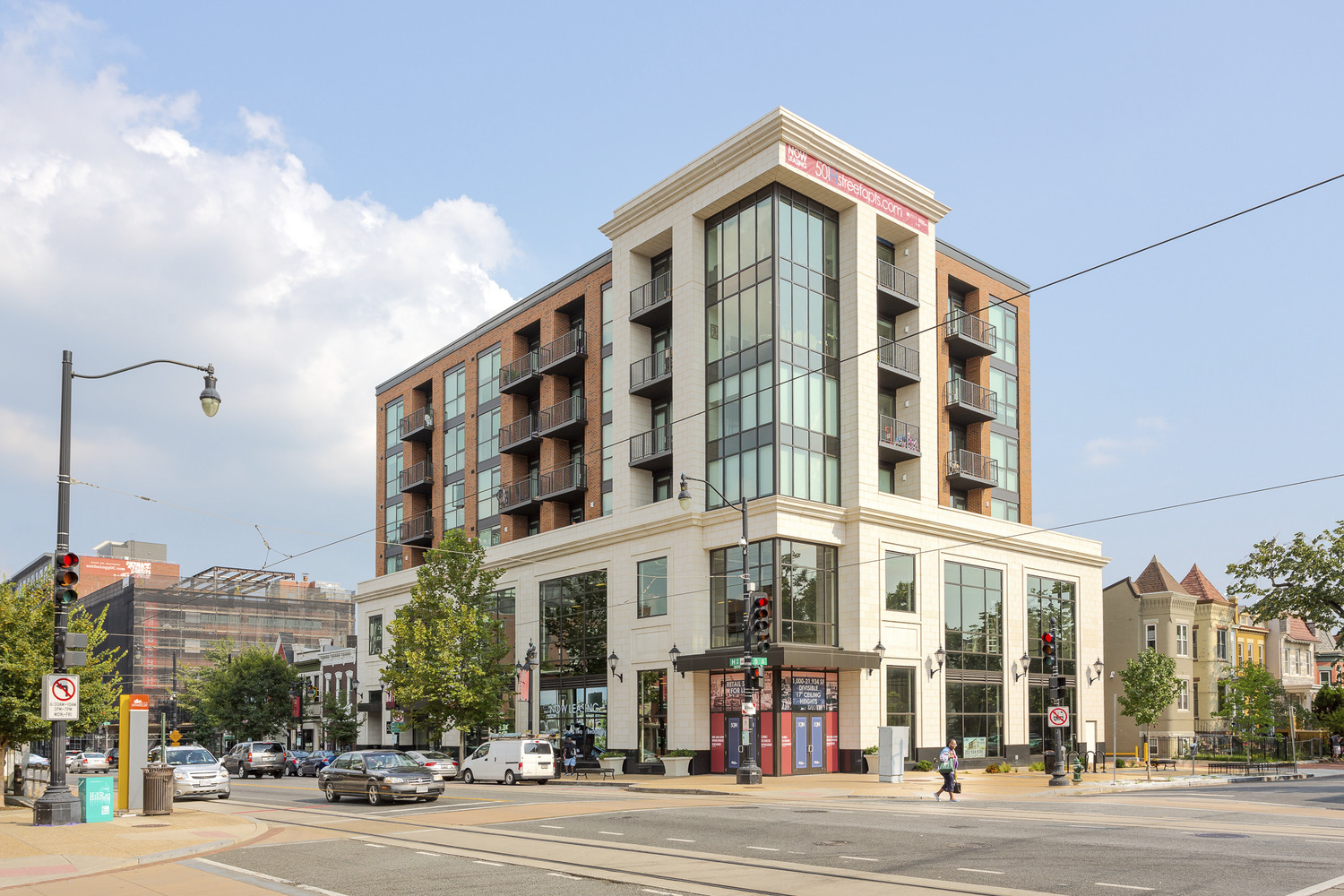 CBG builds 501 H Street, a 28-Unit Mixed-Use LEED® Gold Community in Washington, DC