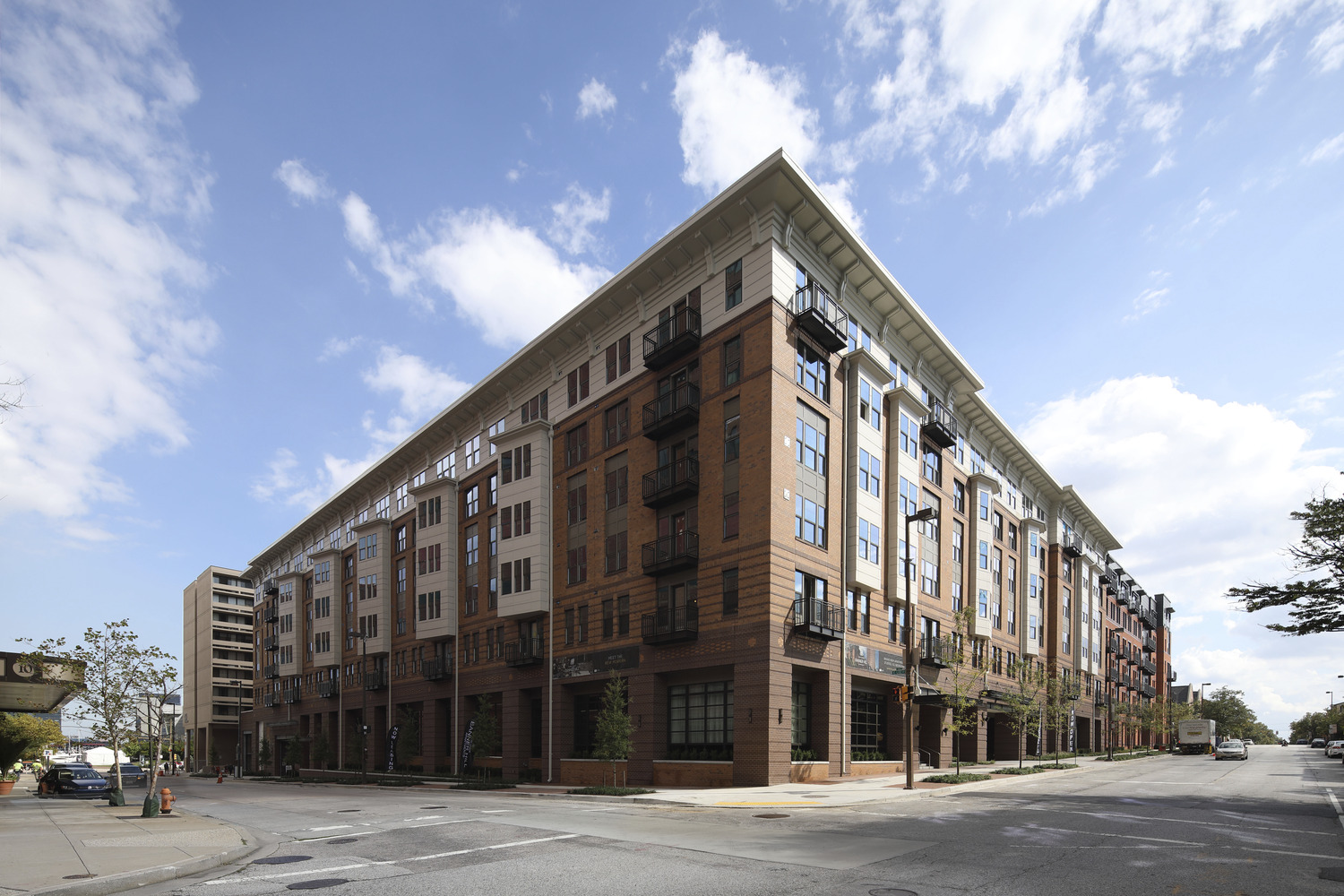 CBG builds Banner Hill, a 349-Unit Luxury Apartment Community with Below-Grade Parking in Baltimore, MD - Image #1