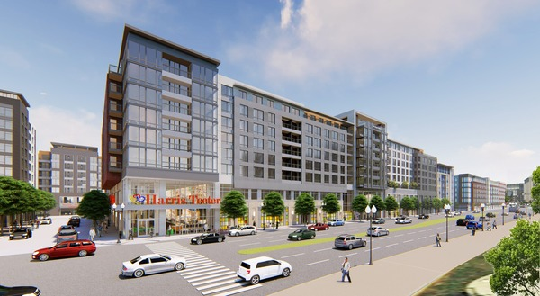 CBG builds UrbA, a 310-Unit, LEED® Certified Mixed-Use Community with Harris Teeter in Arlington, VA - Image #1