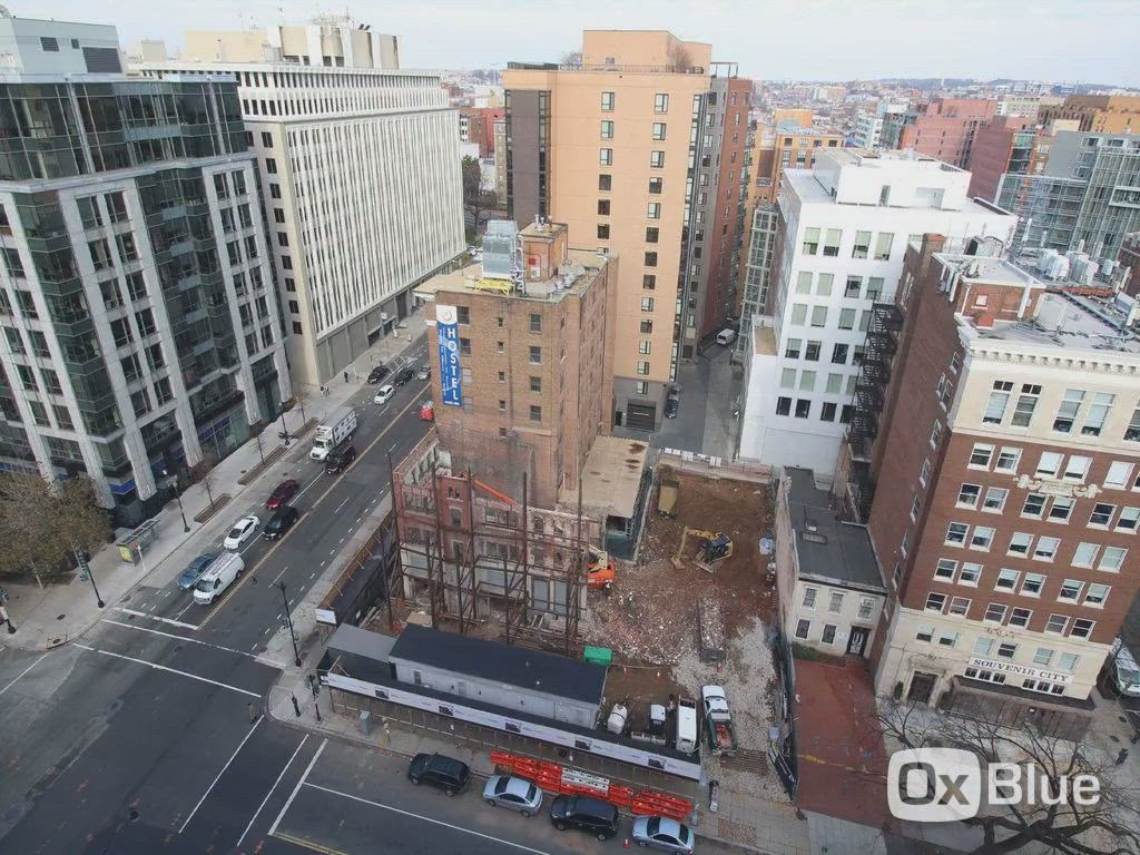 CBG builds Moxy Hotel, a 13-Story LEED® Silver Hotel with Retail in Washington, DC - Image #8