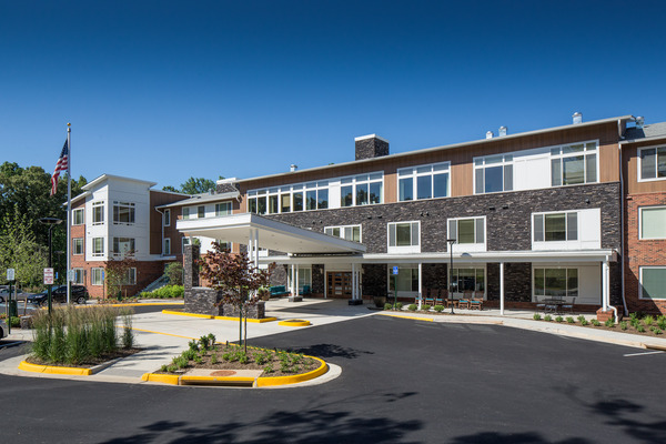 CBG builds Brightview Woodburn, a 94-Unit Senior Assisted-Living Facility with Expansive Common Areas in Annandale, VA - Image #1