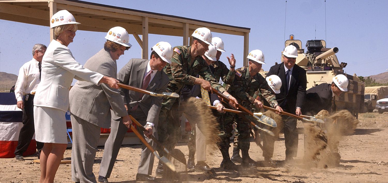 Clark Pinnacle California Military Communities Celebrates Groundbreaking at Fort Irwin Press Release Image