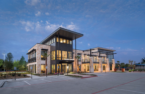 CBG builds Vitruvian West, a LEED® Silver Luxury Apartment Community with Amenities in Addison, TX - Image #2