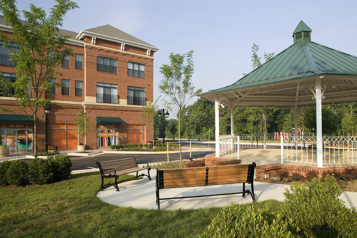 CBG builds The Residences of Lorton Station, a 32 Condominiums Above 36,000-SF Town Center in Lorton, VA - Image #6