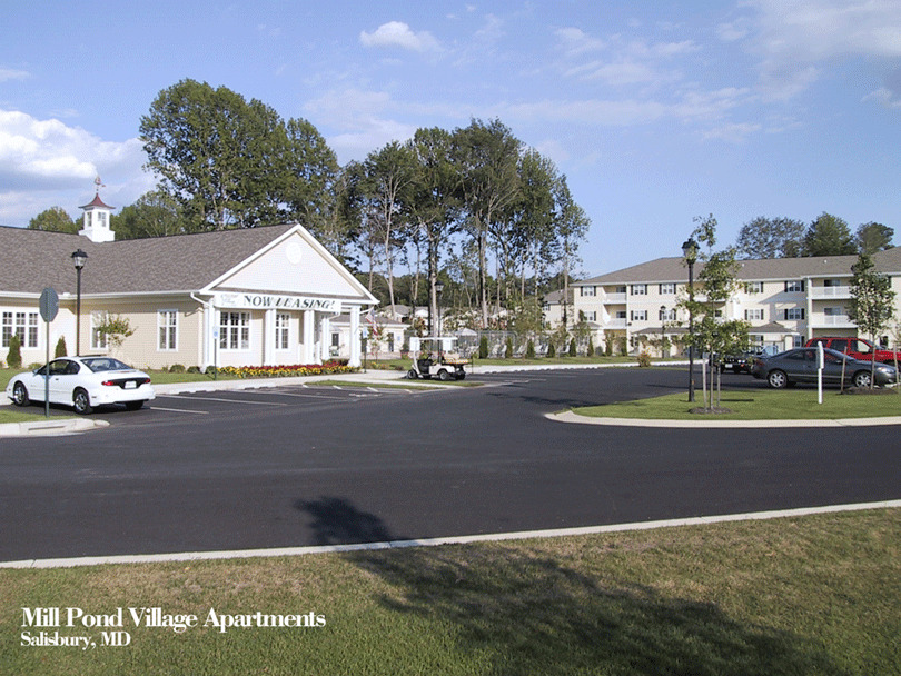 CBG builds Mill Pond Village Phase I, a 240 Market-Rate Apartments in Salisbury, MD - Image #5
