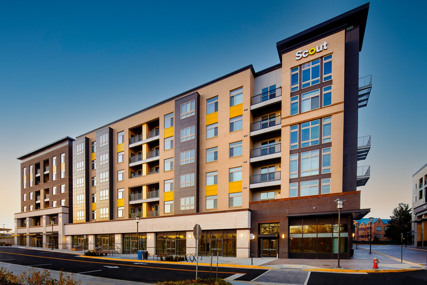 CBG builds Scout on the Circle, a 400-Unit Mixed-Use Community Across Two Buildings in Fairfax, VA