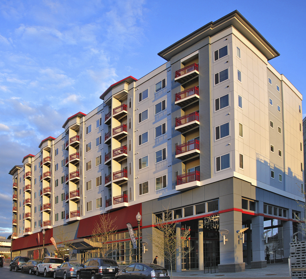 CBG builds The Galaxy, a 195-Unit Apartment Building with Four-Level Underground Cast-in-Place Parking in Silver Spring, MD - Image #6