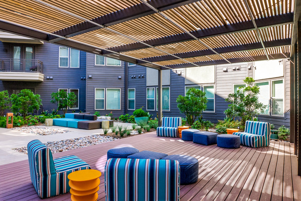 CBG builds Vitruvian West Phase II, a 366-Unit LEED® Silver Apartment Community with Parking Garage in Addison, TX - Image #6