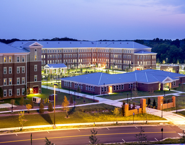 CBG builds Fort Belvoir Warriors in Transition Barracks, a 144 Units of Barracks for Soldiers Recovering from War Injuries in Fort Belvoir, VA - Image #1