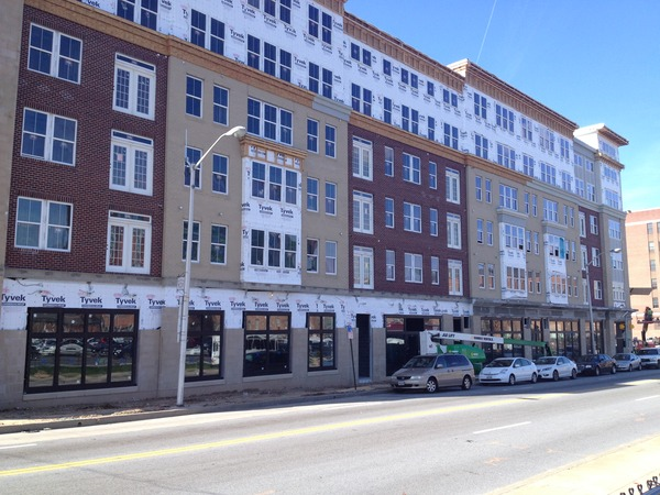 CBG builds Jefferson Square at Washington Hill, a 304-Unit Mixed-Use Apartment Community with Cast-in-Place Parking Garage in Baltimore, MD - Image #13