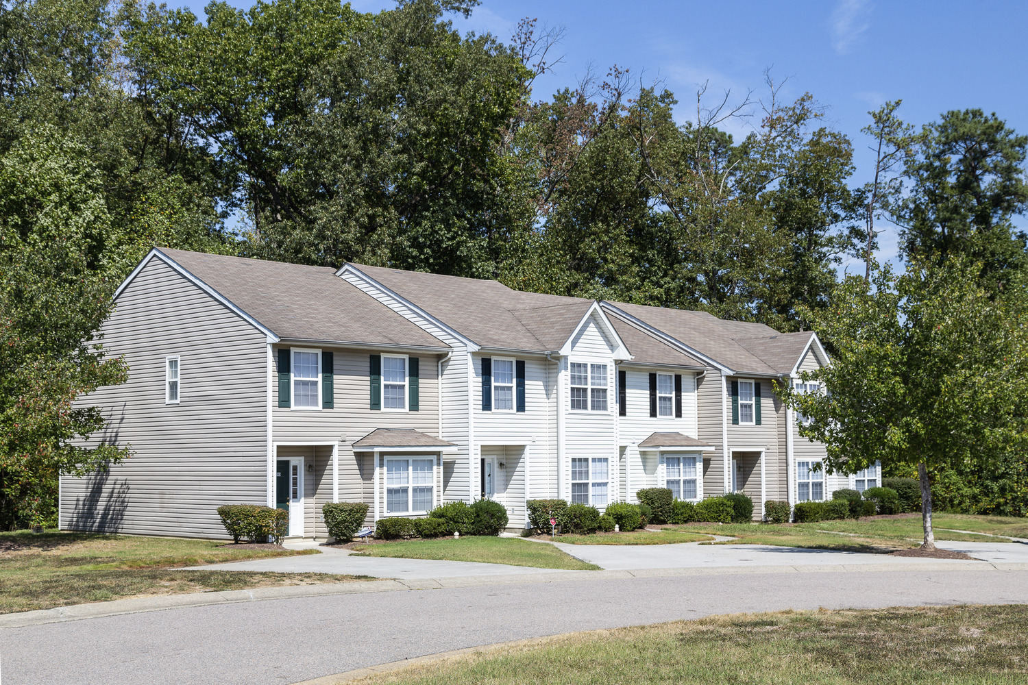 CBG builds Broadwater Townhomes, a 150 Townhome Apartments in Chester, VA - Image #3