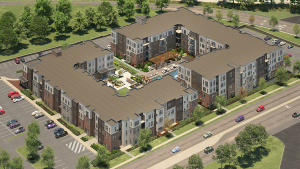 CBG builds UDR Valley Forge, a 200-Unit Luxury Apartment Community Across Two Buildings with Amenities and Parking in King of Prussia, PA - Image #1