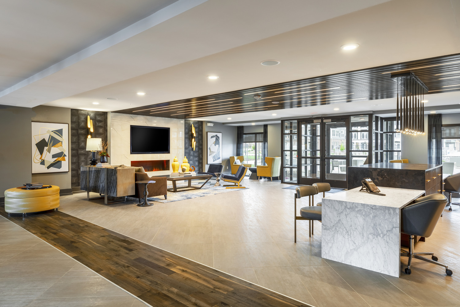 CBG builds J Creekside at Exton, a 291-Unit Luxury Community Across Four Buildings in Exton, PA - Image #5