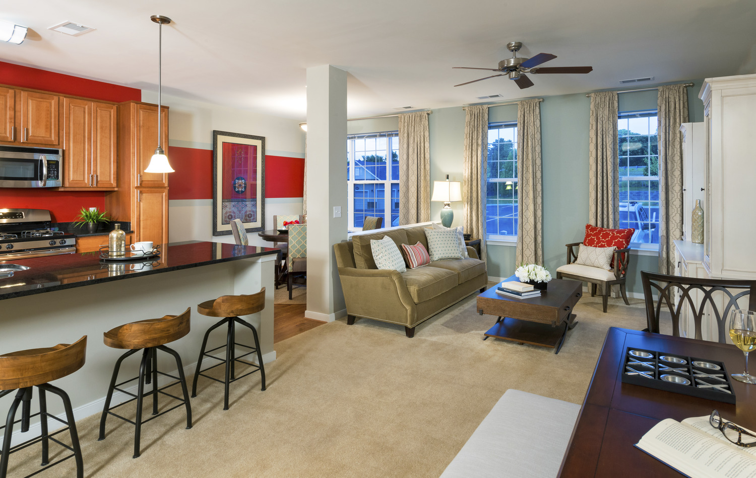 CBG builds Creekstone Village Apartments, a 193-Unit Affordable Garden-Style Apartment Community in Pasadena, MD - Image #5