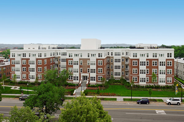 CBG builds Kennedy Row, a 142-Unit Luxury Apartment Community with Two-Story Underground Parking in Washington, DC - Image #1