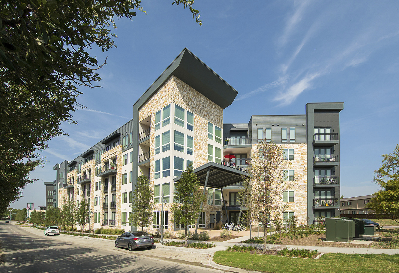 CBG builds Vitruvian West, a LEED® Silver Luxury Apartment Community with Amenities in Addison, TX - Image #1