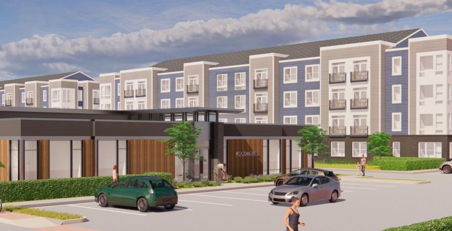 CBG builds St. Joseph Apartments, a 268-Unit, Five-Building Walkable Apartment Community in Glenarden, MD