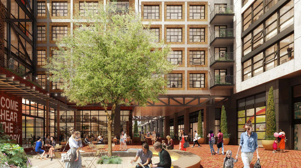 CBG builds Eckington Yards, a LEED® Silver Mixed-Use Community with Four Residential High-Rises in Washington, DC - Image #2
