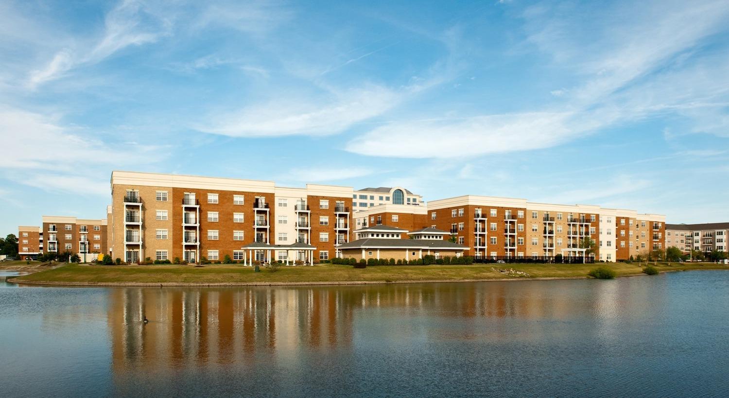 CBG builds Park Place at Oyster Point Town Center, a 175 Luxury Apartments in Newport News, VA