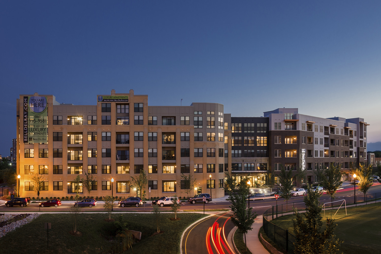 CBG builds Bell Del Ray, a 276-Unit Luxury Residential Community with Cast-in-Place Garage in Alexandria, VA - Image #1