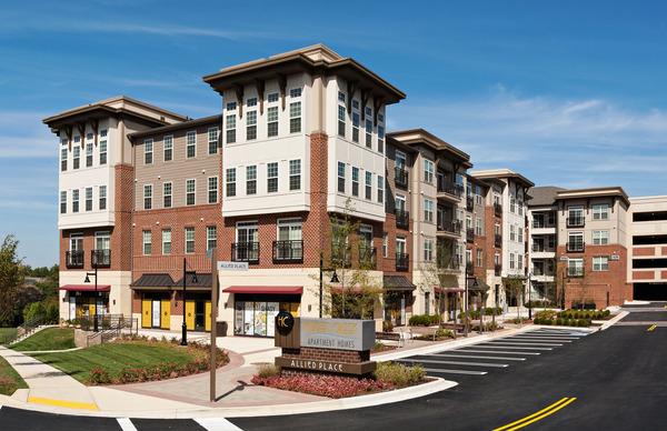 CBG builds Hidden Creek Apartment Homes, a 300-Unit Apartment Community Surrounding Precast Garage in Gaithersburg, MD - Image #3