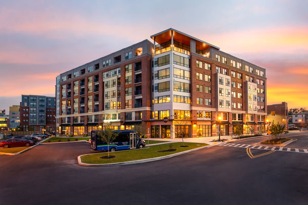 CBG builds Brightview West End, a 195-Unit Senior Living Community with Retail and Below-Grade Parking in Rockville, MD - Image #1