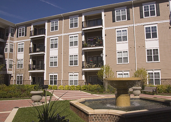 CBG builds The Fitz at Rockville Town Center, a 221 Class A Apartments in Rockville, MD - Image #3